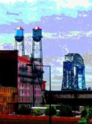 Duluth Art - Duluth Skyline by Rashelle Brown