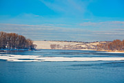 Wintry Photo Posters - Dumbrava lake Poster by Gabriela Insuratelu