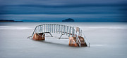 Bass Bridge Prints - Dunbar Bridge at Sea Print by Keith Thorburn