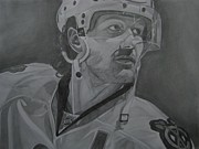 Sports Drawings - Duncan Keith by Melissa Goodrich