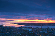 Dundee Photos - Dundee Dawn by Derek Whitton