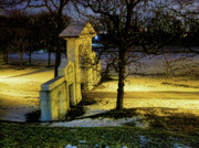 Dundurn Castle Photos - Dundurn Castle Gate by Larry Simanzik
