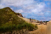 Beach Fence Metal Prints - Dune Metal Print by Bill  Wakeley