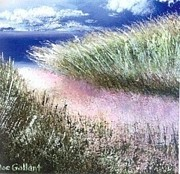 Sand Dunes Paintings - Dune Path by Joseph Gallant