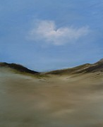 Cape Cod Paintings - Dune Walk by Michael Marrinan