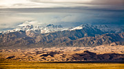 Great Sand Dunes Framed Prints - Dunes and Sangre de Christos Framed Print by Adam Pender
