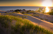 Sunset Prints Photo Posters - Dunes Poster by Jason Naudi Photography