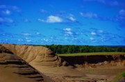 Dunes Prints - Dunes Of Burnett Print by The Stone Age