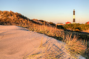 Atlantic Ocean Metal Prints - Dunes of Fire Island Metal Print by JC Findley