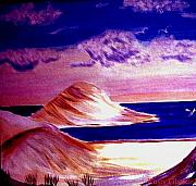 Sand Dunes Paintings - Dunes by Rusty Woodward Gladdish