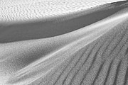 Ripples Of Black And White Prints - Dunescape 05 Print by Simon Lupton