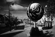 Public Art Prints - Dungannon Market Square County Tyrone Northern Ireland Print by Joe Fox