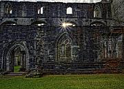 Cathedral Ruins Posters - Dunkeld Cathedral Poster by Jim Dohms