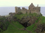 Cliffhanger Art - Dunluce Castle by Emer O Hara