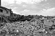 Street Scenes Originals - Dunn Street Demolition 2 by Reb Frost