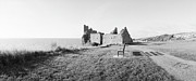 Ruins Originals - Dunour Castle ruins by Jan Faul