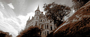 Europe Photo Originals - Dunrobin Towers by Jan Faul