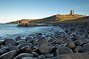 Embleton Prints - Dunstanburgh Castle Print by David Pringle
