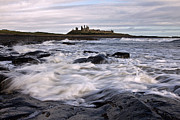 Embleton Prints - Dunstanburgh Castle IV Print by David Pringle