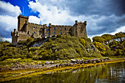 Skye Posters - Dunvegan Castle Poster by Derek Beattie