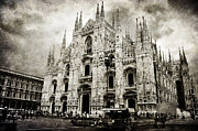 Milano Framed Prints - Duomo di Milano Framed Print by Laura Melis