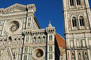John Williams Metal Prints - Duomo Florence Metal Print by John Williams