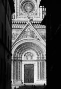 Black And White Photos Digital Art Prints - Duomo I Print by Artecco Fine Art Photography - Photograph by Nadja Drieling