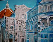 Fine Art Sculptures Mixed Media - Duomo in Florence by Diane Sellers