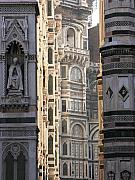Renaissance Sculpture Prints - Duomo Sunrise Print by Alan Todd