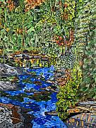 North Carolina Paintings - Dupont Forest by Micah Mullen