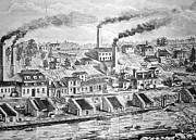 Dupont Powder Mill, 1854 Print by Granger