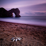 Gb Framed Prints - Durdle Door Framed Print by Nina Papiorek