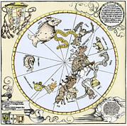 Durer's Celestial Globe, 1515 Print by Sheila Terry