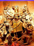 Goddess Durga Photos - Durgeshnandini by Anirban Banerjee