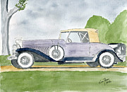 Classic Cars Originals - Dusenberg by Eva Ason