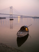 Ganga Photos - Dusk by Animesh Roy