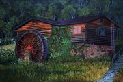 Closed Originals - Dusk at the Old Mill by Shirl Theis