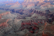 Amazing Sunset Prints - Dusk colors at Grand Canyon Print by Pierre Leclerc