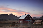 Rural America Prints - Dusk in the Country Print by Andrew Soundarajan