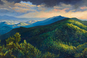 Howe Paintings - Dusk by Jonathan Howe