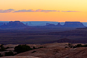 Canon Eos 50d Photos - Dusk Muley Point and Monument Valley by Troy Montemayor