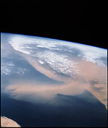 Dust Framed Prints - Dust Storm Framed Print by NASA / Science Source