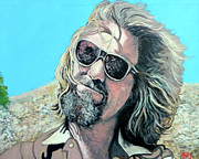 Lebowski Paintings - Dusted by Donny by Tom Roderick