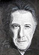 Movie Mixed Media - Dustin Hoffman by Raymond Potts