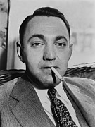 Crime Art - Dutch Schultz, Born Arthur Flegenheimer by Everett