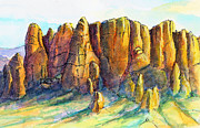 Arizona Memories Paintings - Dutchmans Gold by Nancy Matus