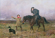 Sheepdog Paintings - Duty by Heywood Hardy