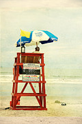 Beach Life Posters - Duty Time Poster by Susanne Van Hulst