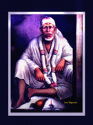 Wallpapers Framed Prints - Dwarkamai Sai Framed Print by Sunil Shegaonkar