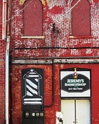 Dwight Barber Shop Print by Todd Sherlock